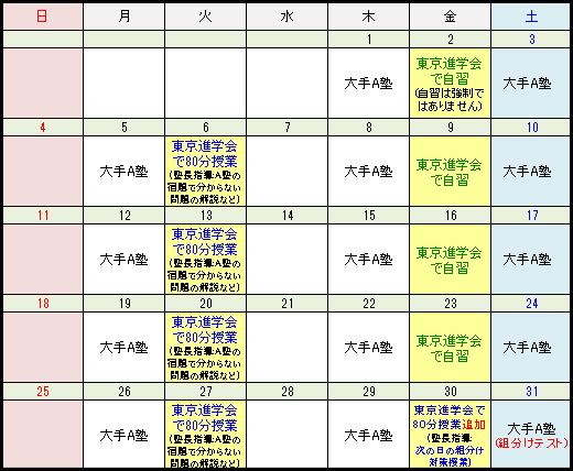 東京進学会の活用方法:ケース2